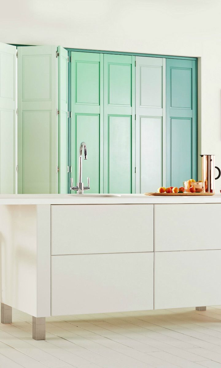 combine different shades of mint green with white to create a rh pinterest com