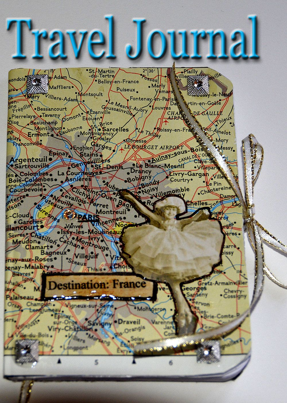France travel journal Paris map journal Europe