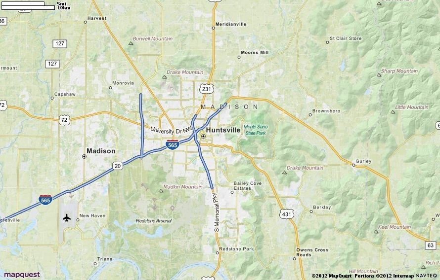 MapQuest Maps - Driving Directions - Map