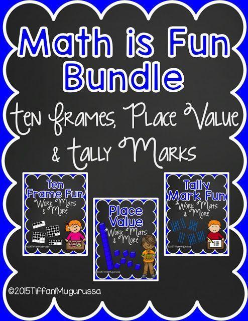 common core math in kindergarten, place value, tally marks, ten ...