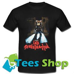 Kanye West Late Registration Tour T Shirt Influencers Fashion Celebrity Closets Tee Shop
