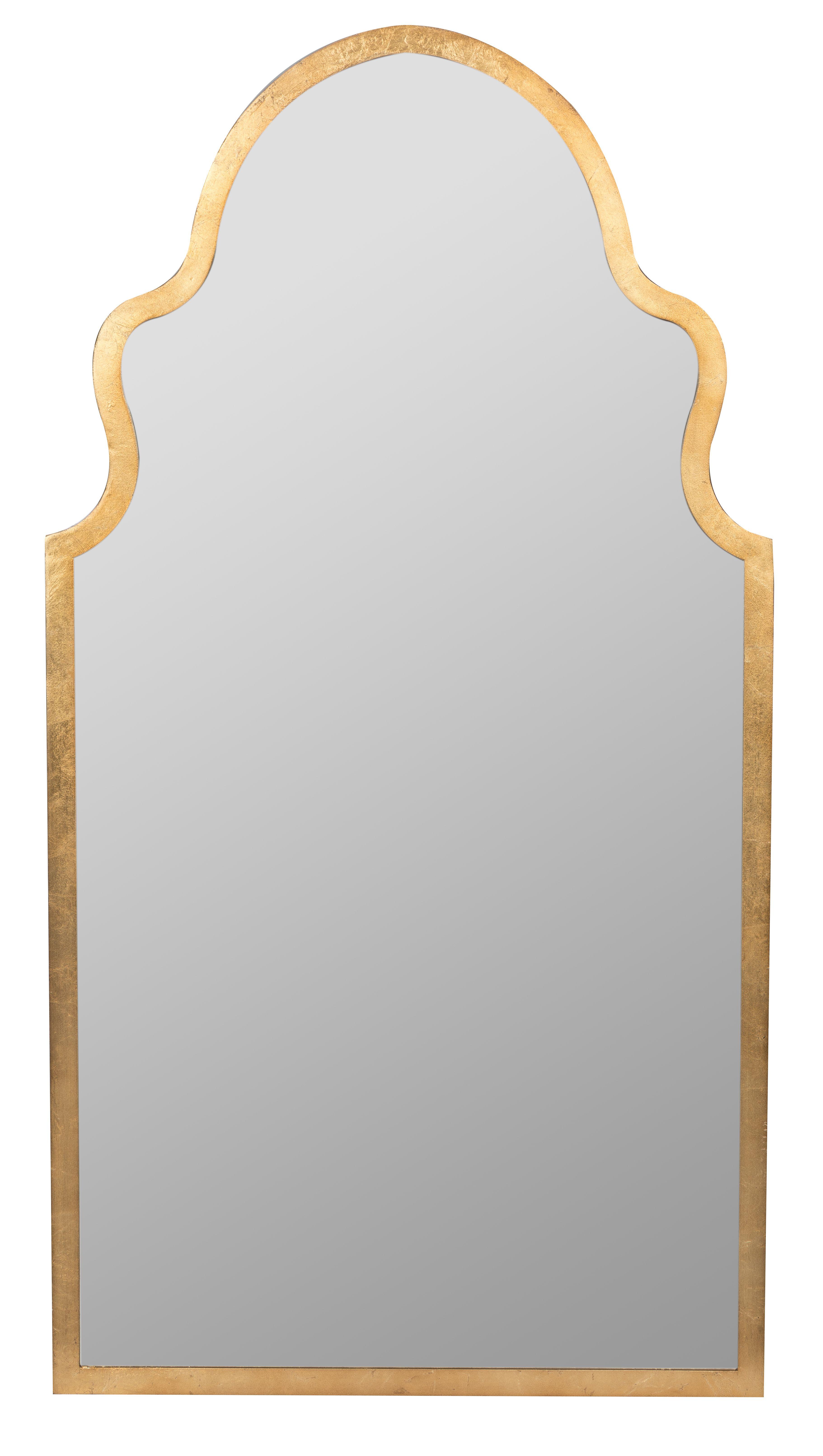 Lincoln Mirror in 2020 | Gold vanity mirror, Hallway ...