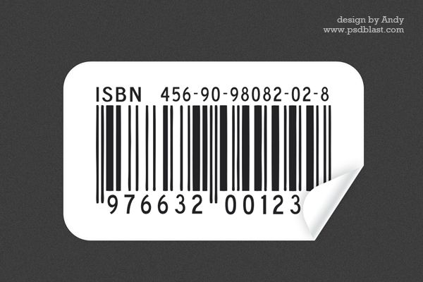 Barcode Sticker Psd Psd Stickers