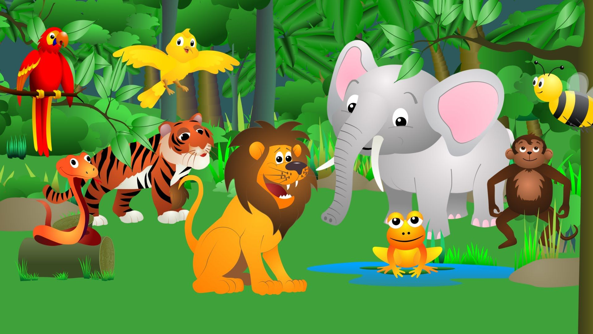 Best Animal Sounds Song Jungle Use A Castanet To Keep