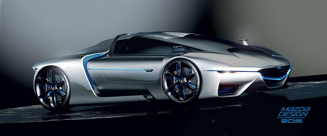 Mazda Concept Hypercar Concept Cars Supercars Pinterest