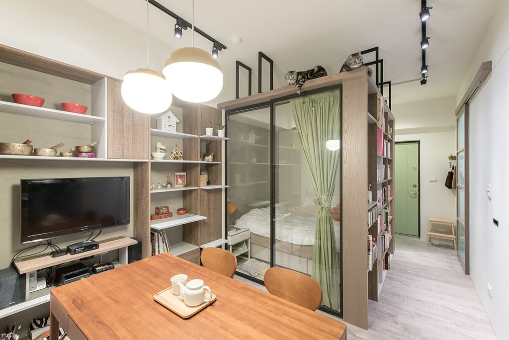 新莊11坪 1貓1人剛剛好小宅 @ 室內設計 IN 新莊 | 裏心空間設計