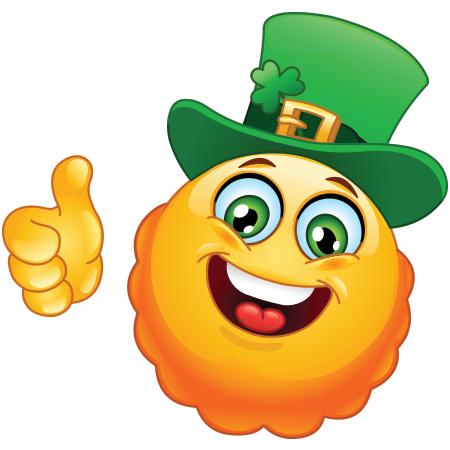 Irish Smiley Funny Emoticons Smiley Emoticon
