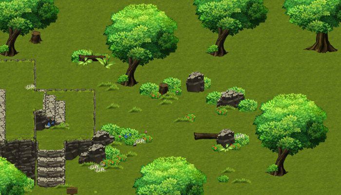 Рис.2 Пример простой карты