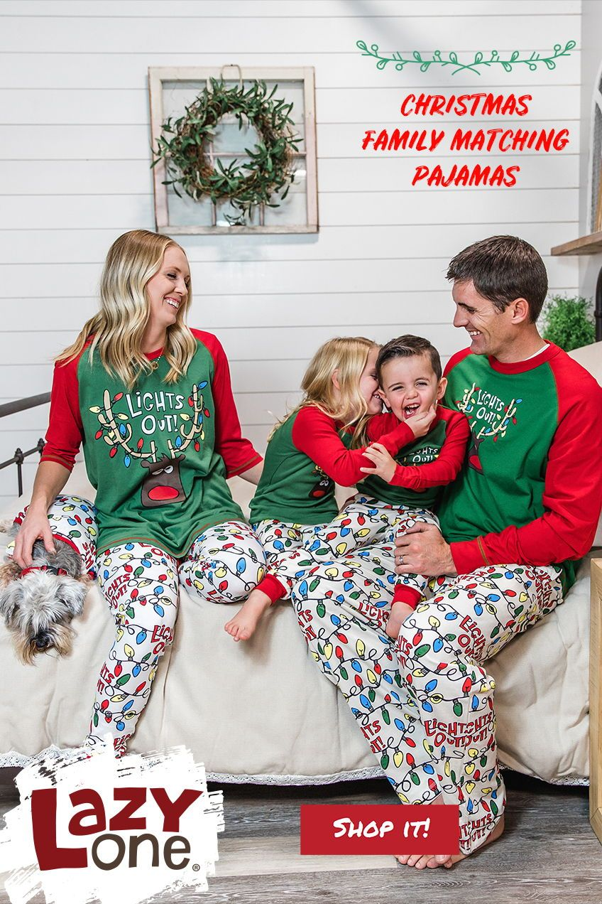 Christmas Matching Pajamas Are Such A Great Way To Add A Bit Of