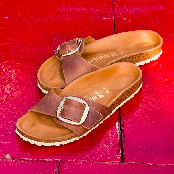 da7be63a01c0 We re loving the new Big Buckle collection from Birkenstock! Fresh looks  for spring