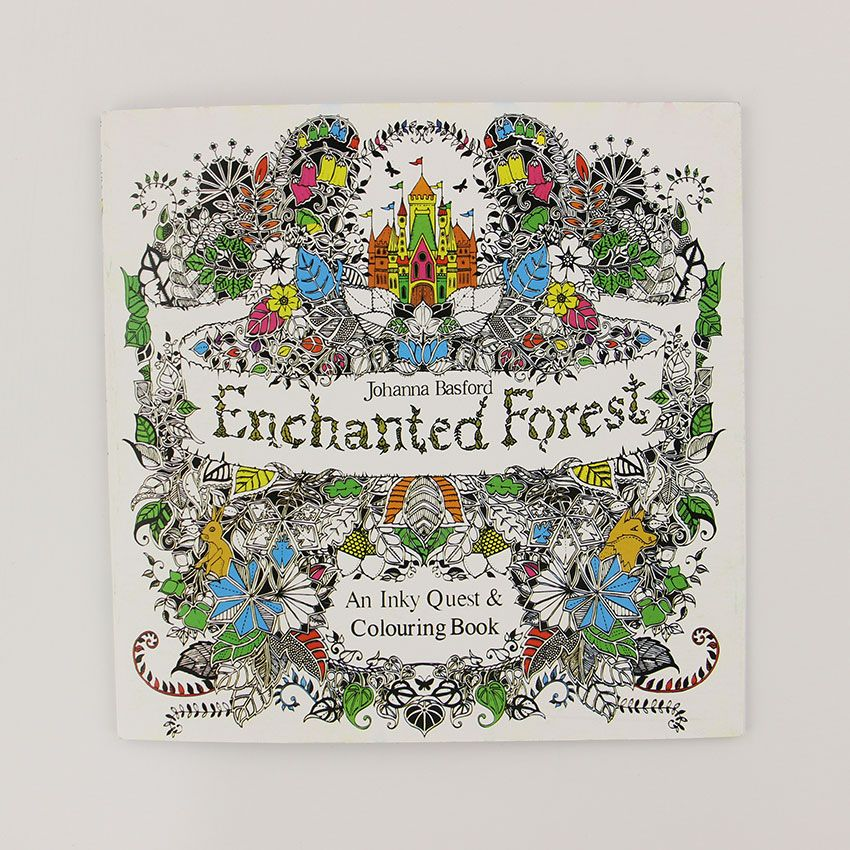 Cheap Books For Adults Buy Quality Coloring Directly From China Book Suppliers Enchanted Forest