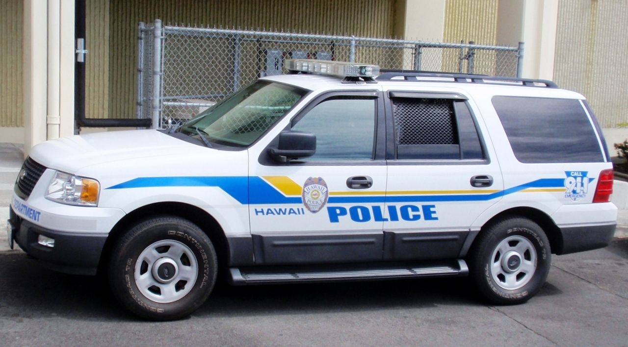 2005 Ford Expedition Hawaii Police Department Ford Expedition Police Cars Police