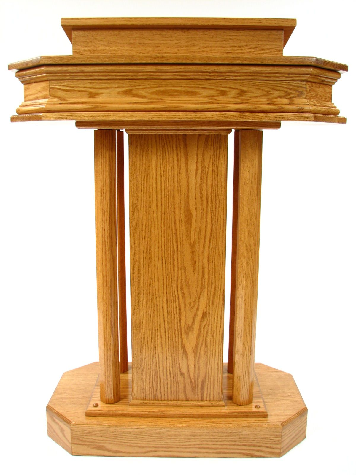Wood Pulpit Church pulpit plans - Front   Podiums & Pulpits   Pinterest   Wood, Furniture and ...