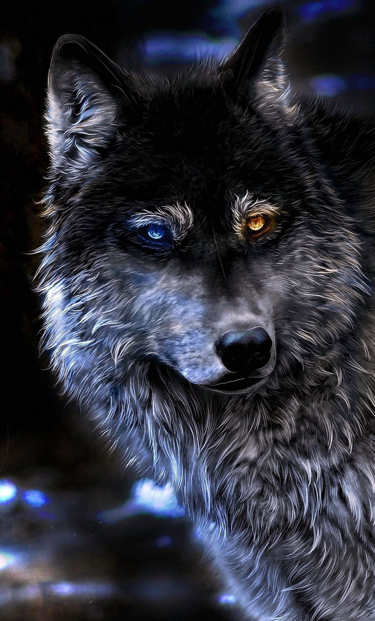 Wolf iPhone 6 Wallpapers HD Wolf wallpaper, Iphone