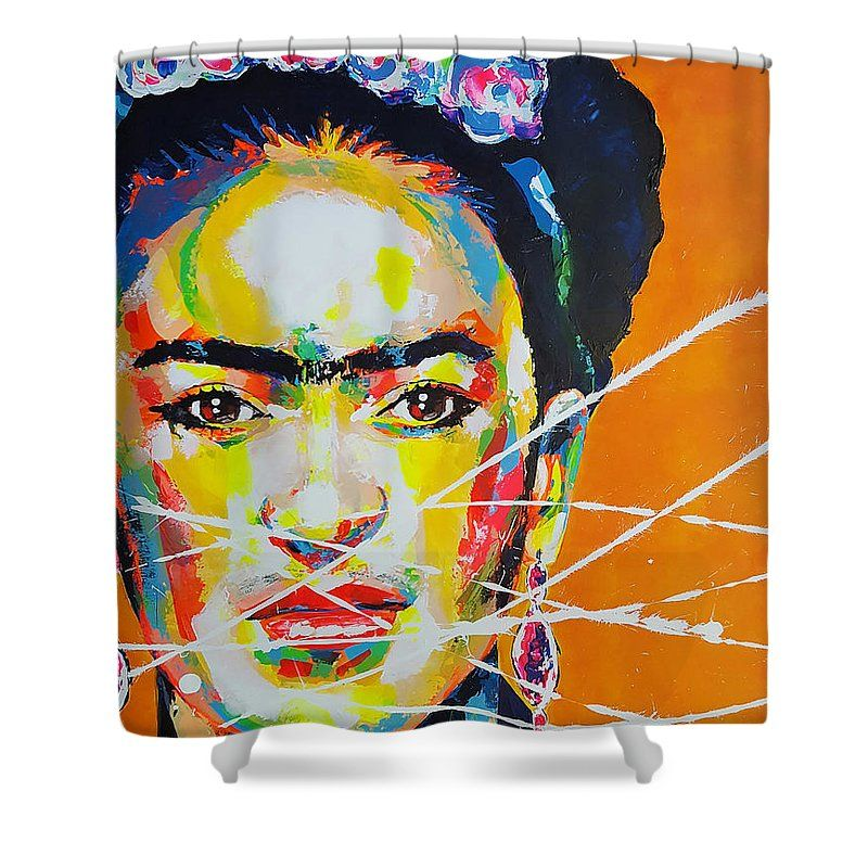 Frida Kahlo Shower Curtain For Sale By Marie Armelle Borel With