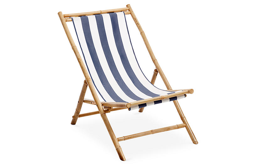 Bamboo Lounge Chair White Blue Blue Dining Chair Outdoor Chairs Outdoor Furniture
