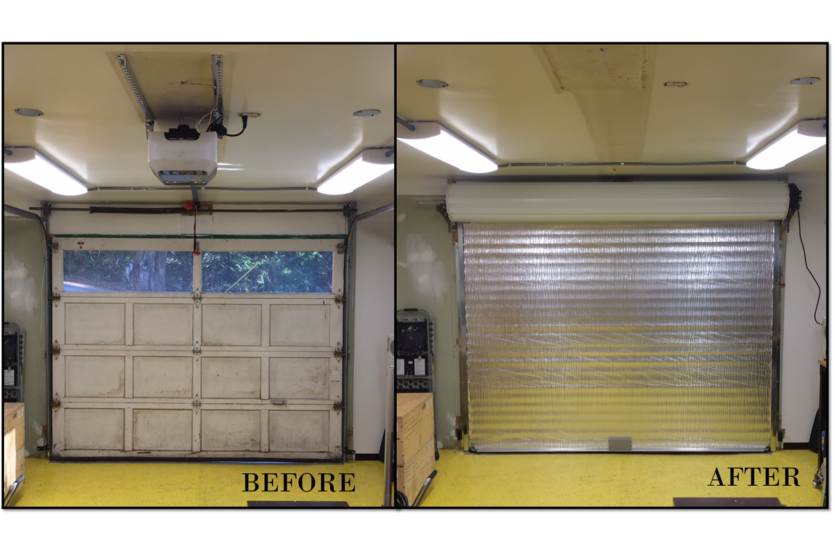 Insulated Roll Up Door Roll Up Doors Residential Garage Doors Roll Up Garage Door