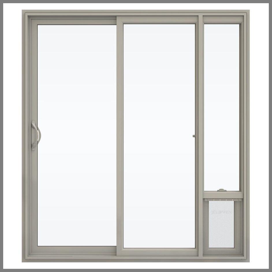 104 Reference Of Jeld Wen Sliding Patio Door With Pet Entrance In 2020 Sliding Patio Doors Patio Doors Patio Screen Door
