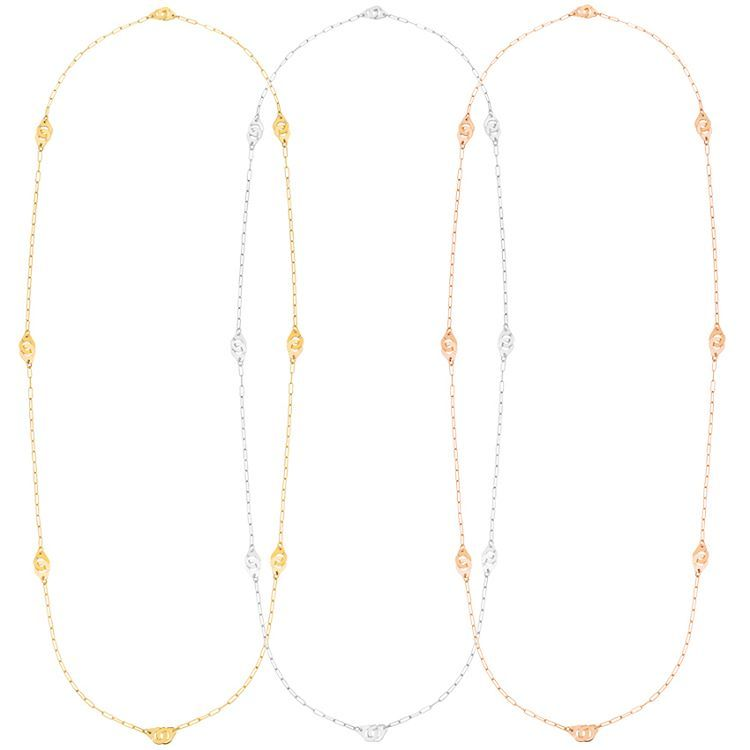 59fd987a5fa74 A Menottes dinh van R8 long length necklace with 8 motifs is now ...