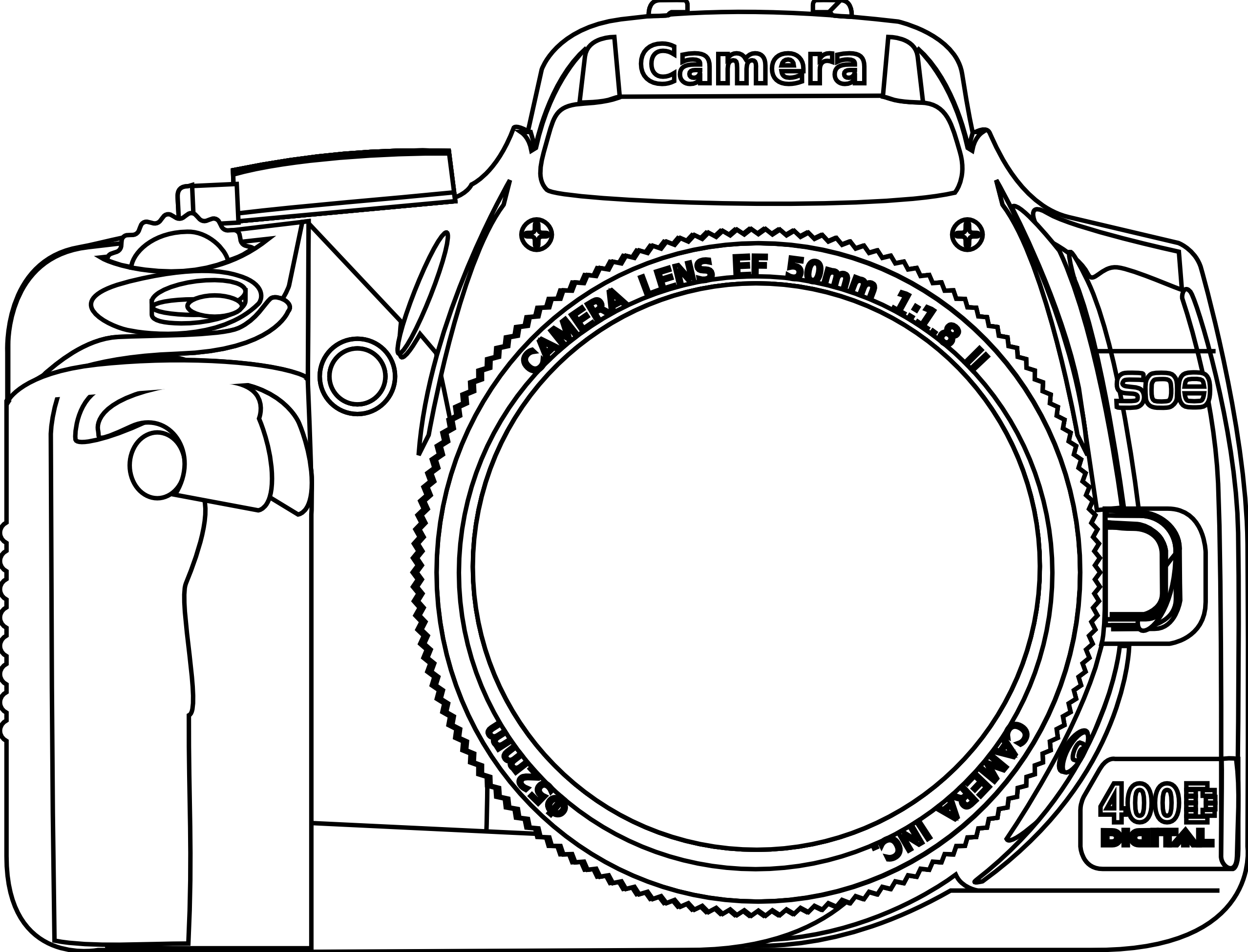 Camera Clip Art Google Search Camera Clip Art Coloring Pages Best Camera For Portraits