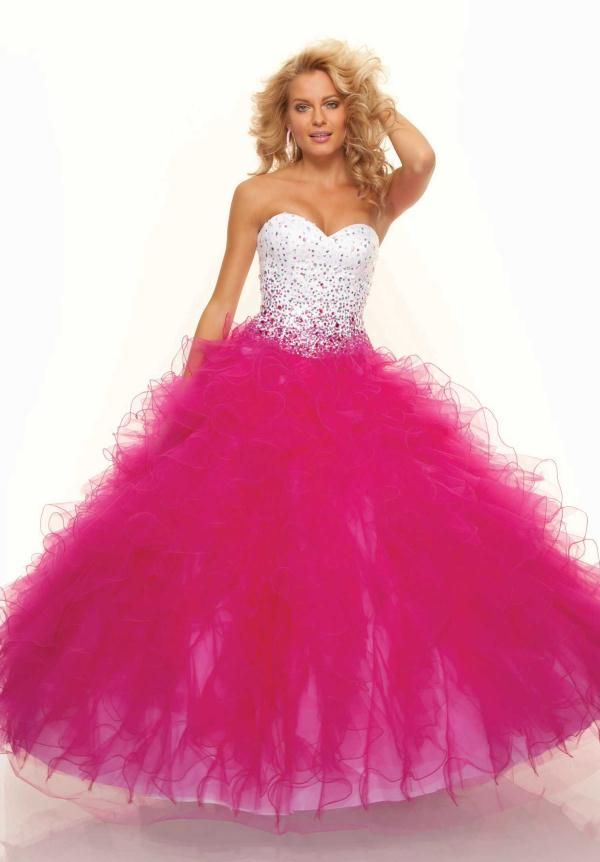 Pink Prom Dresses | Stand out with a Two-Tone Colored Prom Dress ...
