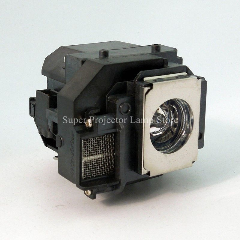 Replacement Projector Lamp Elplp66 V13h010l66 W Housing For