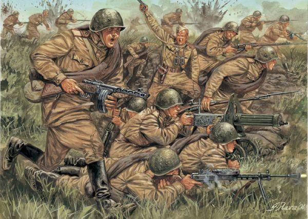 Soviet Infantry resist invading Germans 1941 | WWII INFANTRY ...