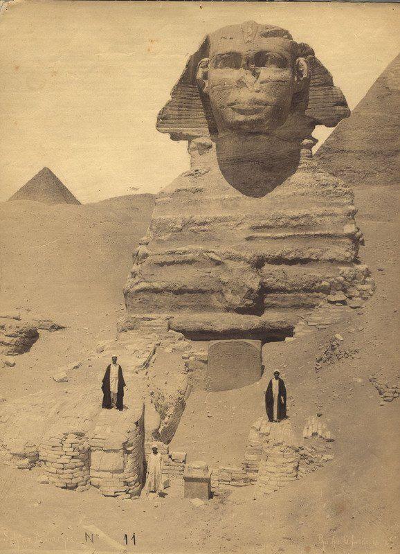 Esfinge de Giza 1900