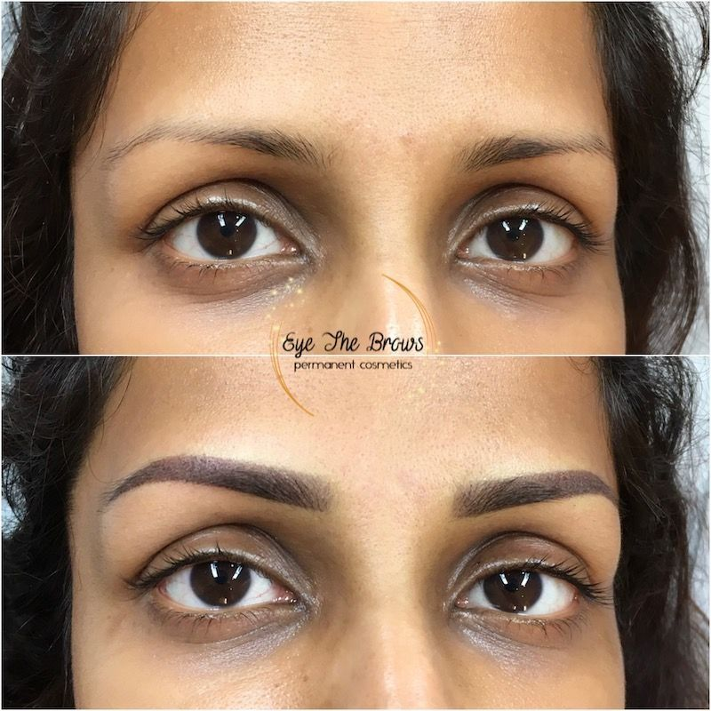 Difference Between Microblading and Ombré Powder Brows in
