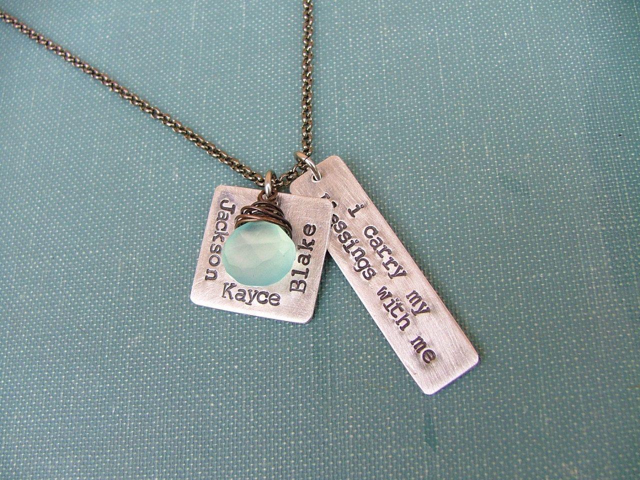 MyBella Signature Necklace I Carry My by MyBellaByLizLollar, $36.00