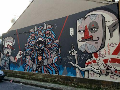 Mural Sydney city lane