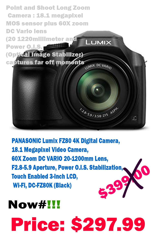 60x Zoom Dc Vario 20 1200mm Lens F2 8 5 9 Aperture Power O I S
