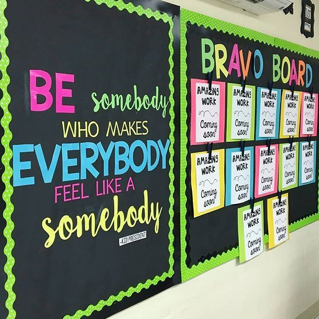 I love this bulletin board made by emilythirdandgoal for Cork board inspiration