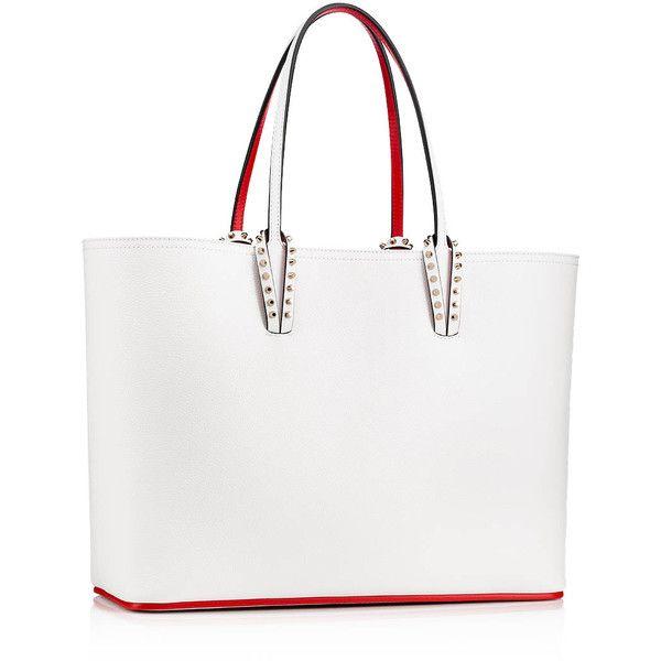 4e2f23c77e Cabata Tote Bag White Calfskin - Handbags - Christian Louboutin (17.178.755  IDR)