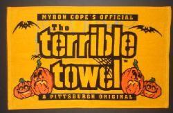 Pittsburgh Steelers Halloween Terrible Towel - Official Online Store