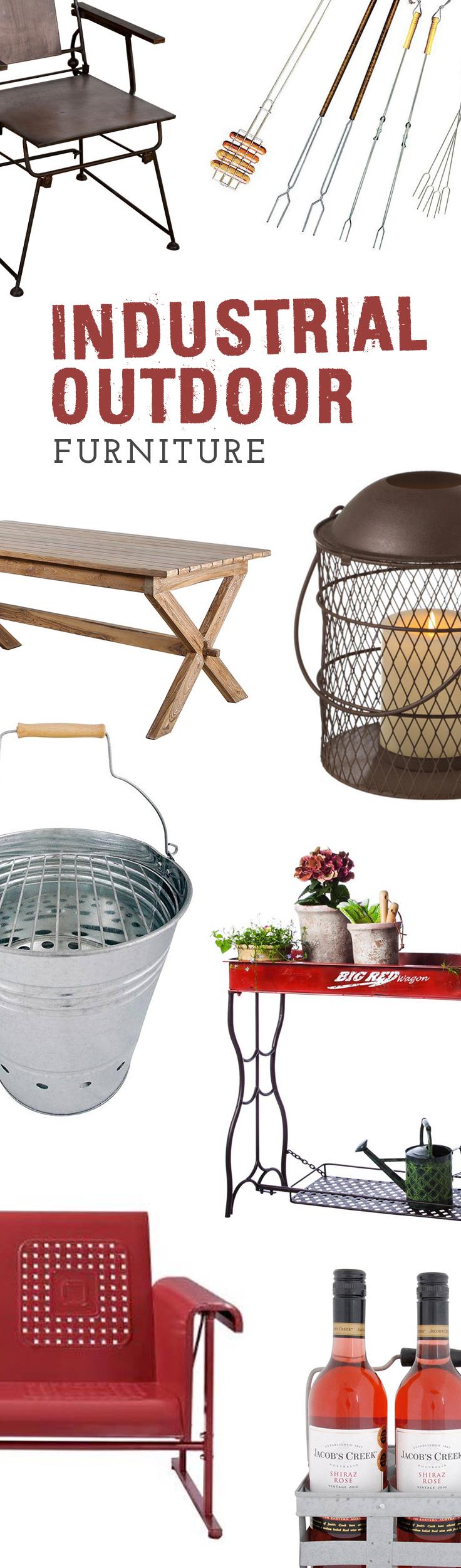 industrial outdoor furniture dcor shop now at dotandbocom