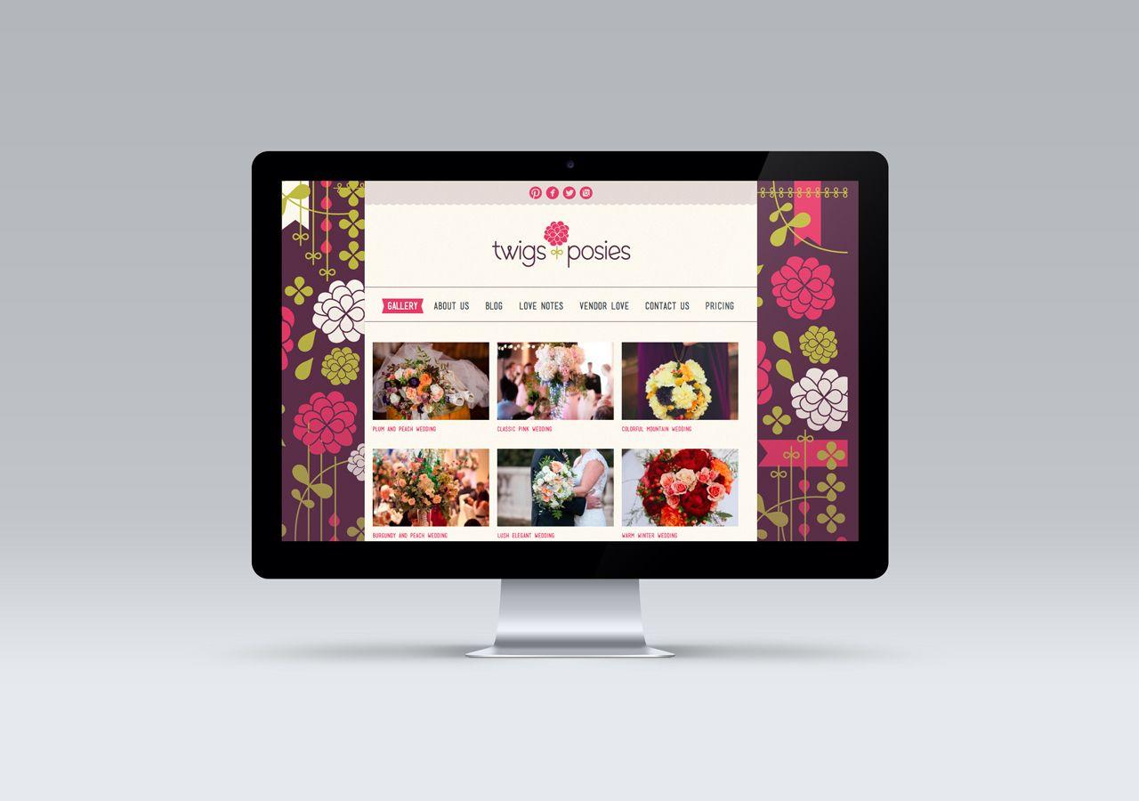 Ad Campaign Design Twigs Posies Digital Graphic Design