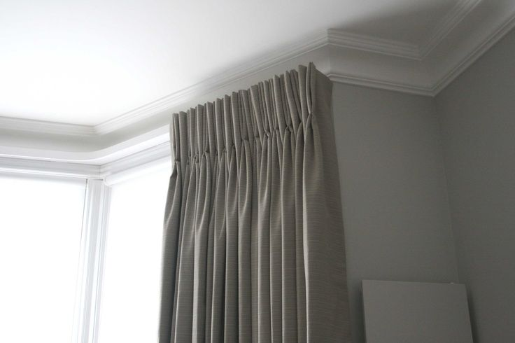 Pinch Pleat Curtains With Covered Lathe Pinch Pleat Curtains