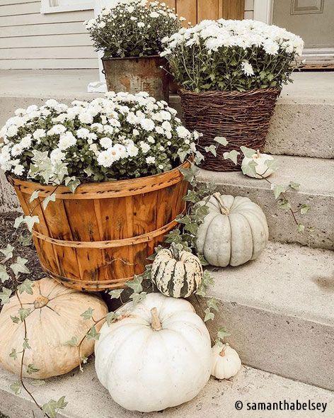 Photo of Inspirationen für eine Herbstdekoration mit Kürbis – KreativLISTE