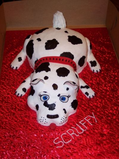 Scruffy By Nana784 on CakeCentral.com