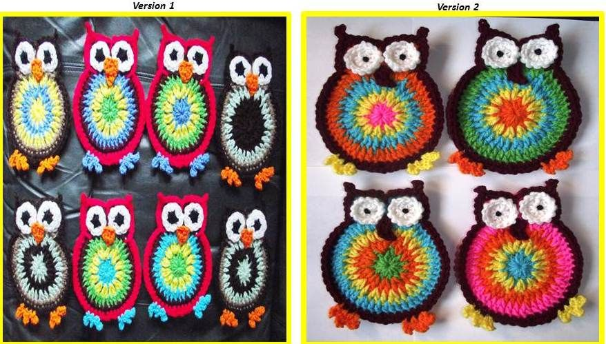 Ten More Free Crochet Owl Patterns Haken Pinterest Croché