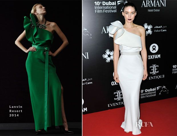 Rooney Mara In Lanvin Oxfam Charity Gala Red Carpet Fashion Awards Red Carpet Formal Celebrity Red Carpet Red Carpet Fashion
