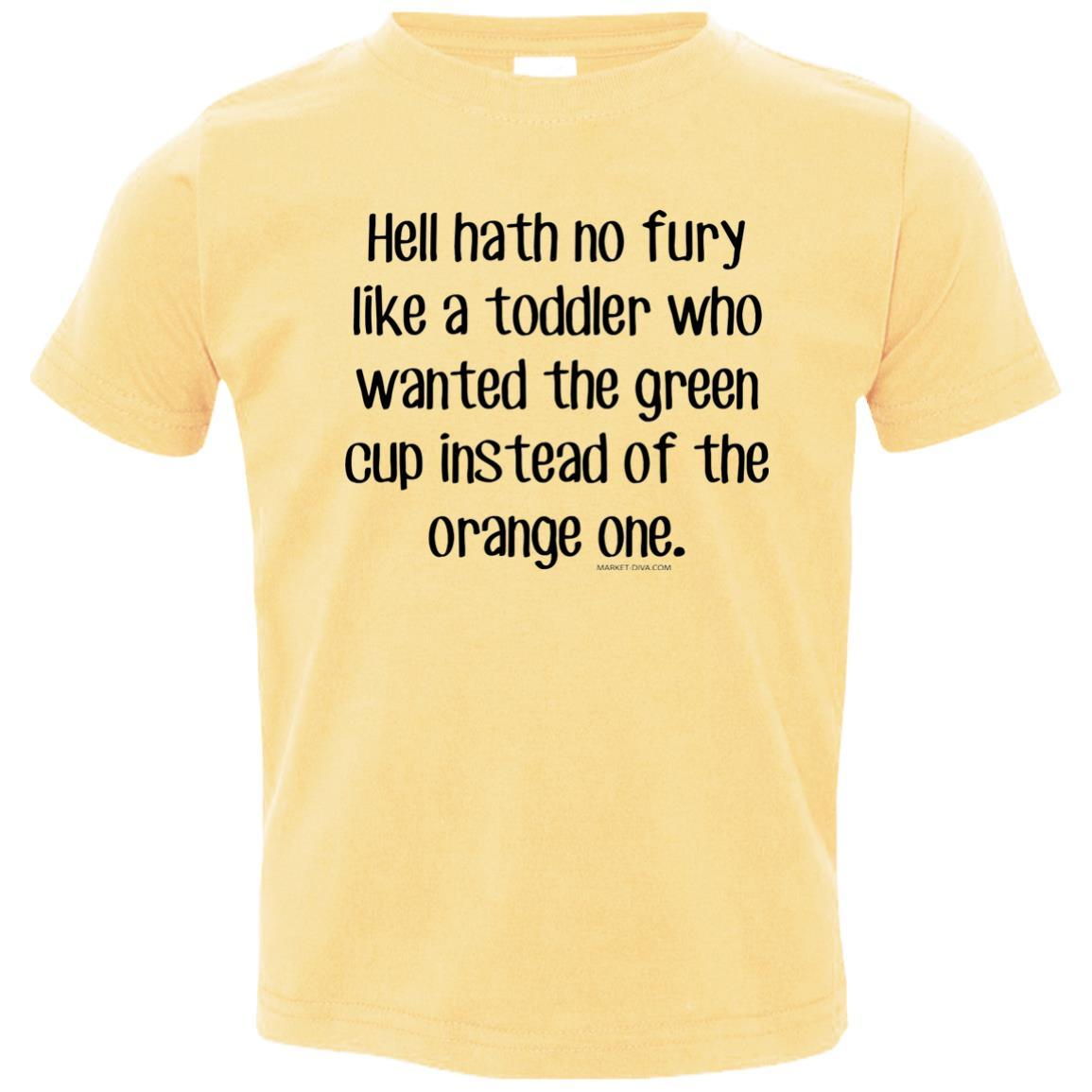 hell fury - Toddler Jersey T-Shirt
