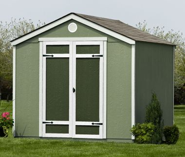 8 8 Shed With Plenty Of Style Functionality Yardline Sheds At Costco With Images Shed Beacon House 8x8 Shed