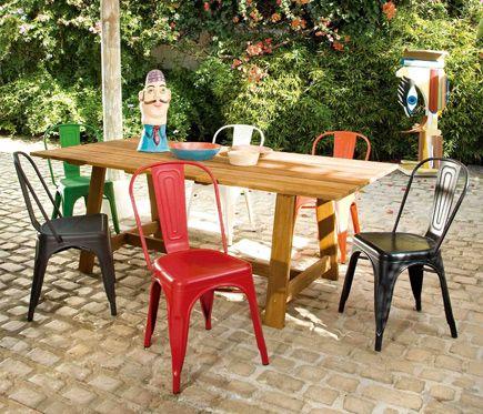 Conjunto de madera de teca SOHO 200x100 - Leroy Merlin | IDEAL HOUSE ...