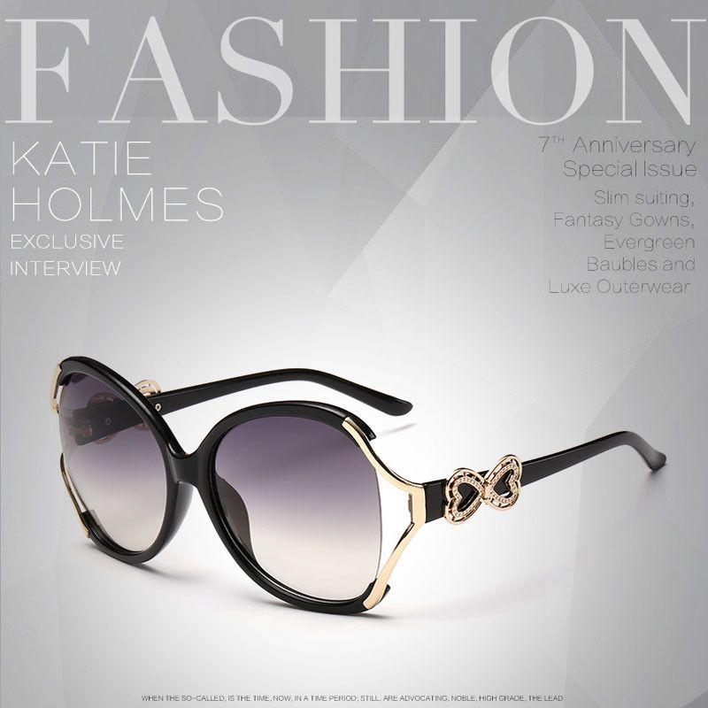 Aliexpress.com : Buy Big Frame Sunglasses Women Brand Designer Gold ...
