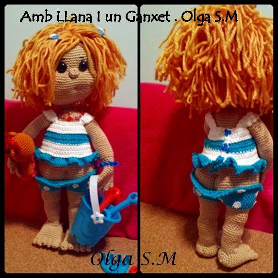 Muñeca Lia   Amigurumi patrones gratis en español, Amigurumi ...