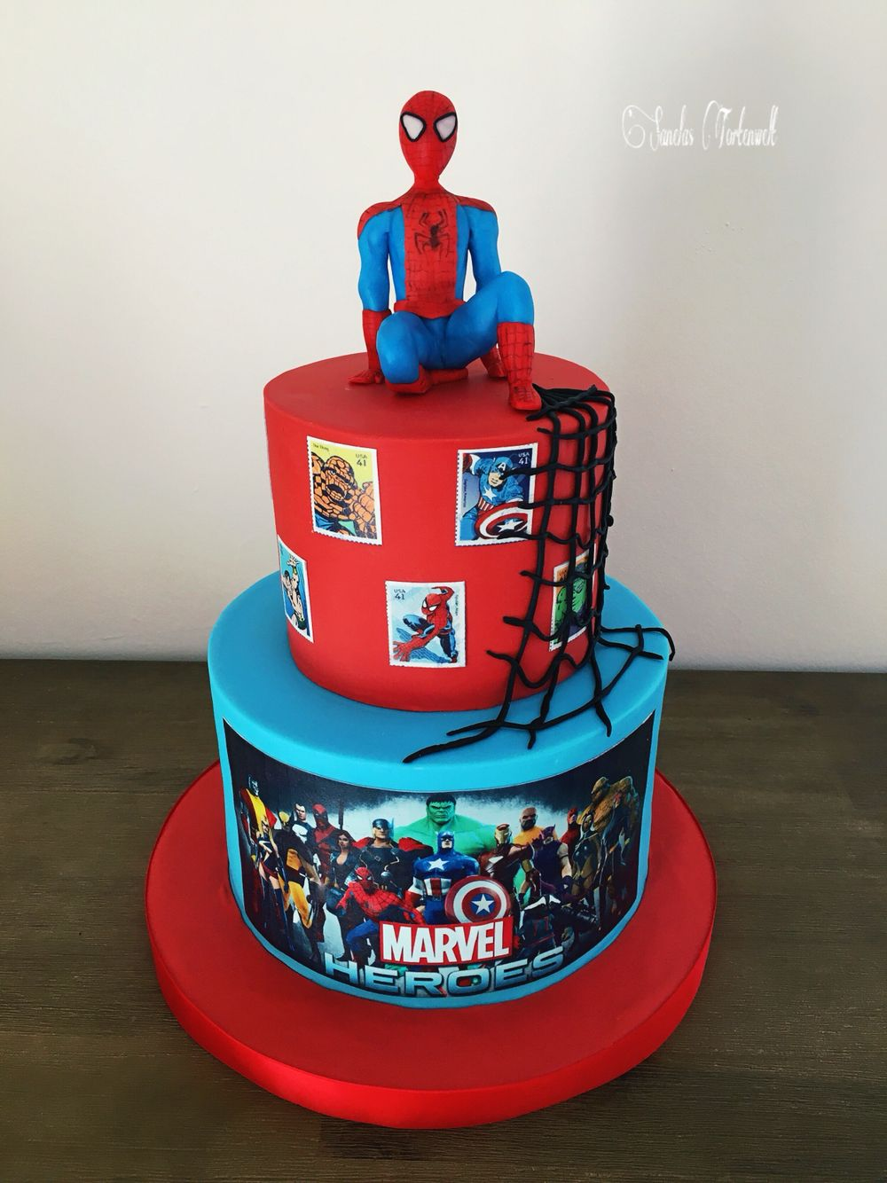 Spiderman Torte Cake Kindergeburtstags Torte Birthday Cakes Kids