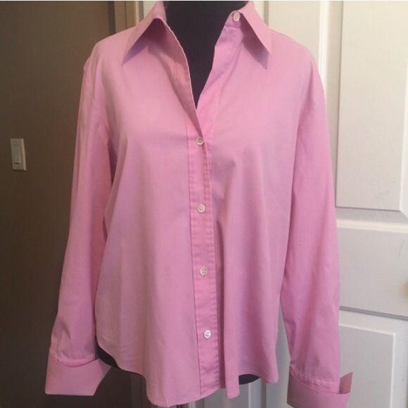 Long sleeved collared button down shirt Long sleeved collared button down shirt Theory Tops Button Down Shirts