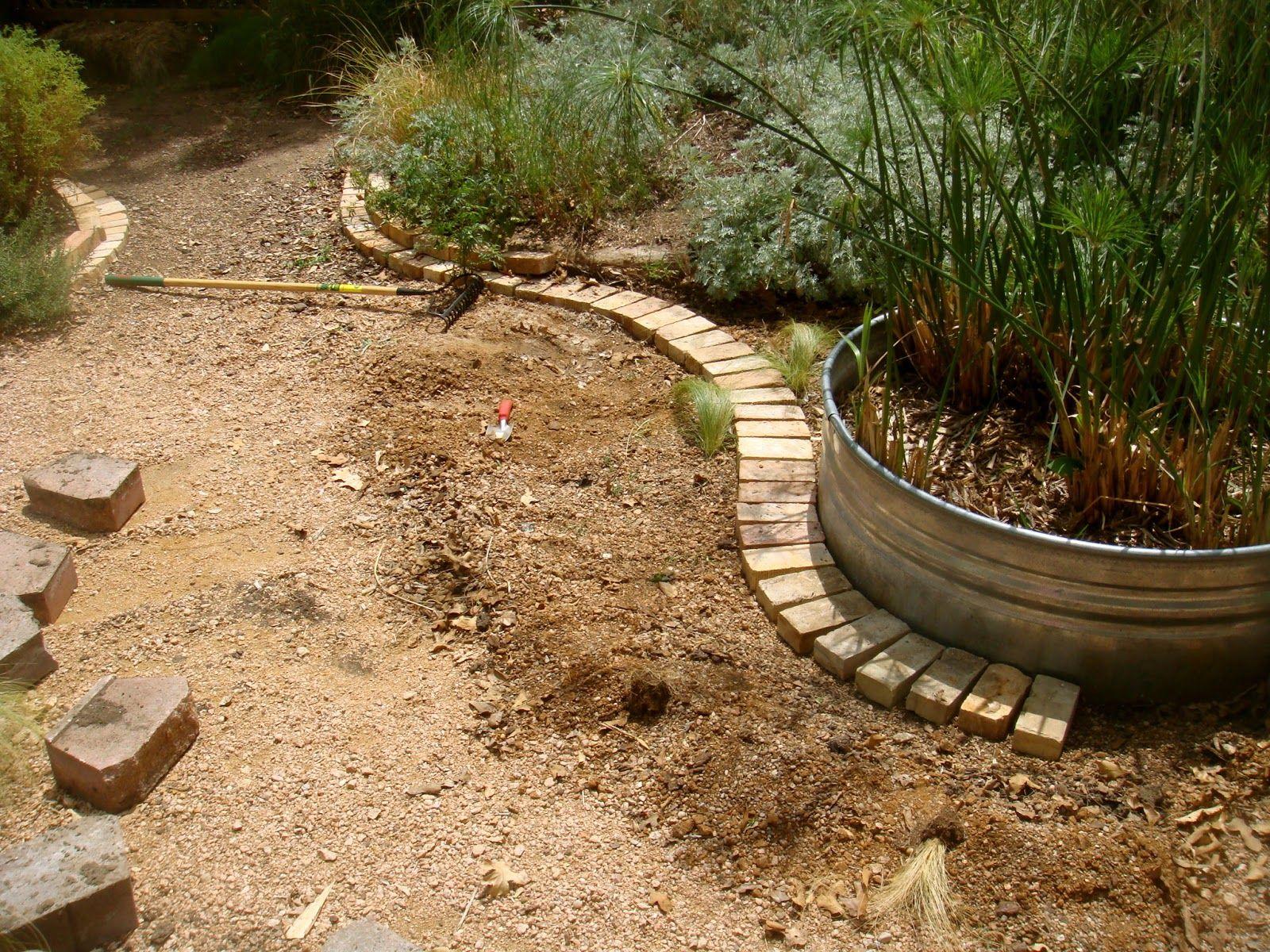 Amazing Brick Garden Edging 6 Flower Bed Ideas. midnight in the ...